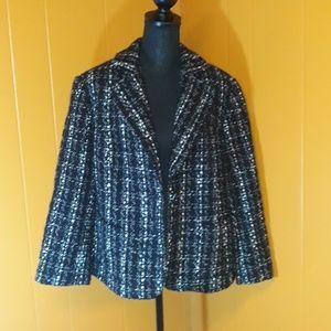 Rafaella blazer jacket twill style sz 18W